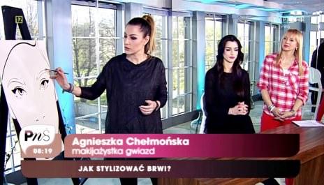 Agnieszka Chełmońska dla TVP2