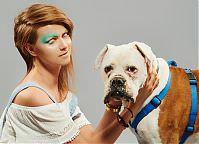 Make-up: Monika Wawrzyniak, Modele: Iga Anna Szulc & Bratek (do adopcji - Fundacja AMI), Fot.: Piotr Pazdyka