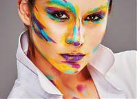 Make-up: Paula Nowak, Modelka: Kinga Korszla, Fot.: Piotr Pazdyka