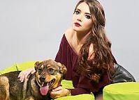 Make-up: Monika Szymańska, Modele: Patrycja Mądra & Pluto (adoptowany), Fot.: Piotr Pazdyka