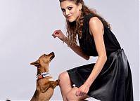 Make-up: Dominika Piotrowska, Modele: Aleksandra Truszczyńska & Scrapi (do adopcji - Fundacja Bezdomniaki), Fot. Michał Zagórny