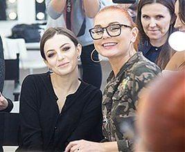 Star Make-up Show zEwą Gil wSzkole Wizażu iCharakteryzacji SWiCh. Fot. Anita Kot