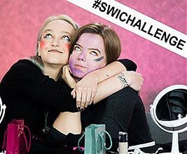 SWiChallenge - Mixed up makeup challenge / Odcinek 2