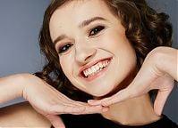 Make-up: Aneta Nosek, Modelka: Karolina Żyłka, Fotografia: Piotr Pazdyka