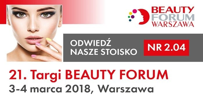 SWiCh na 21. Targach Beauty Forum i 3. edycji Makeup Day! 3-4 marca 2018 r.