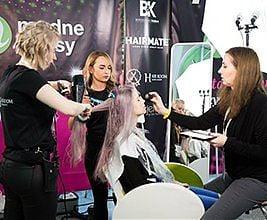 Efekt WOW zportalem modnewlosy.pl podczas Healthy Lifestyle Show. 24-25 lutego 2018 r. Fot. Anita Kot