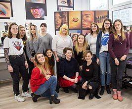 Szkoła Wizażu i Charakteryzacji SWiCh & NYX Proffesional Makeup - zajęcia produktowe oraz warsztaty. Wiosna 2019 r.