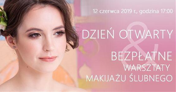 Dzień Otwarty i bezpłatne warsztaty makijażu ślubnego w Szkole Wizażu i Charakteryzacji SWiCh. 12 czerwca 2019 r. godz. 17:00
